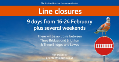 Brighton Mainline Closure report – 12th Feb 2019 Chris Dabbs reporting for Brighton Broadcaster News