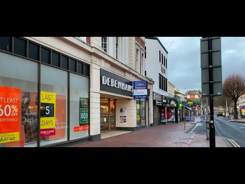 Debenhams leaving Eastbourne – Chris Dabbs self-shoot & edit
